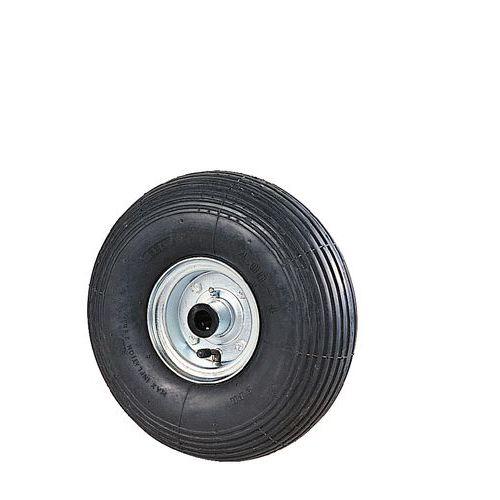 Luchtband met groeven - Draagvermogen 75 tot 250 kg - Met rollager