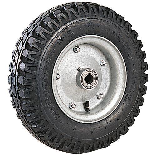 Wiel met noppen voor steekwagen - Hefvermogen 450 tot 1300 kg