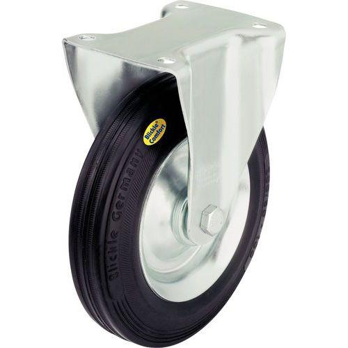 Afbeelding van Bokwiel met grondplaat - Draagvermogen 100 tot 450 kg