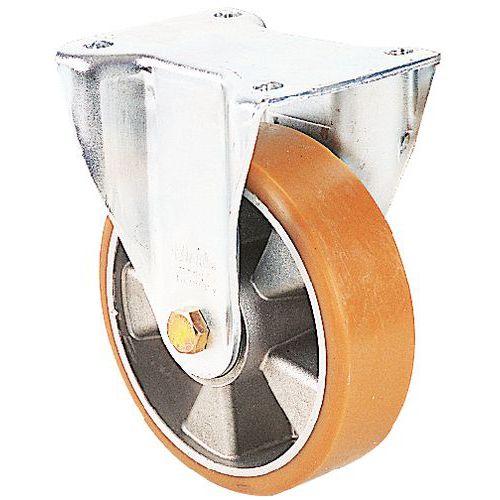 Bokwiel met plaat - draagvermogen 180 tot 900 kg