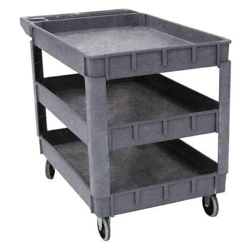 Werkplaatswagen kunststof 250 KG