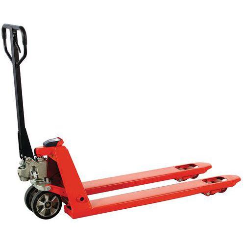 Handpalletwagen met weegsysteem met lage precisie 2000 kg