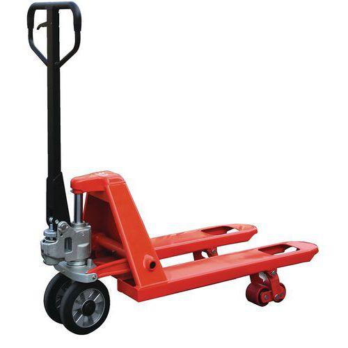 Handpalletwagen mini vorkbreedte 450 mm Capaciteit 2500 kg