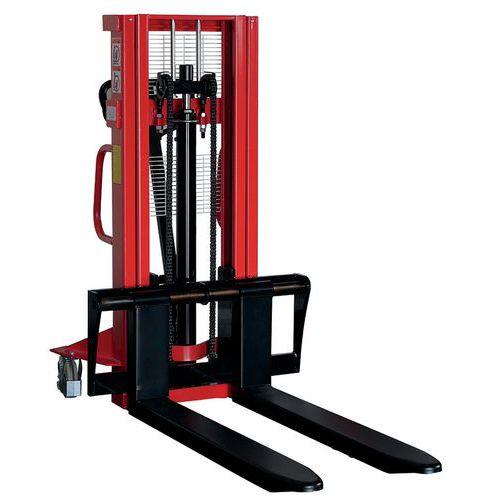 Stapelaar handmatig 500 tot 1500 kg