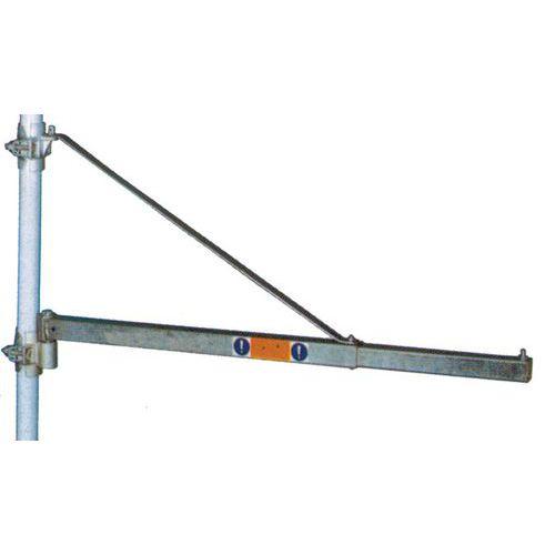 Draaibare zwenkkraan voor Lier Mini Elektrisch