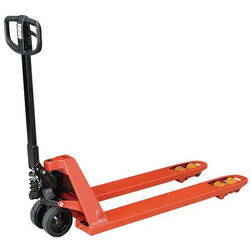 Handmatige palletwagen Silence Quicklift - Met vorklengte 1150 mm - Hefvermogen 2300 kg