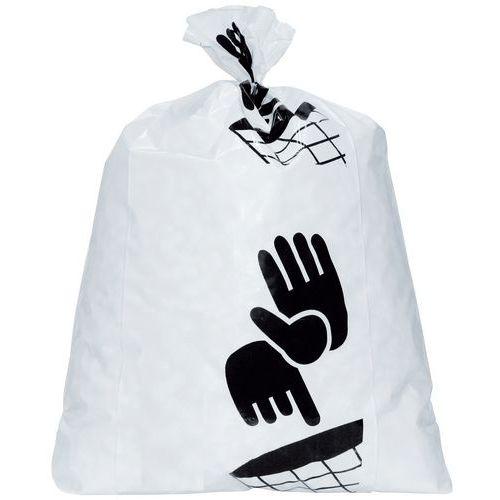 Afvalzakken wit - Zwaar afval - 60 tot 160l - Manutan