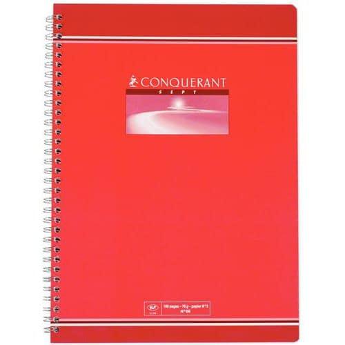 Spiraalschrift Conquérant 7 - Grote ruit