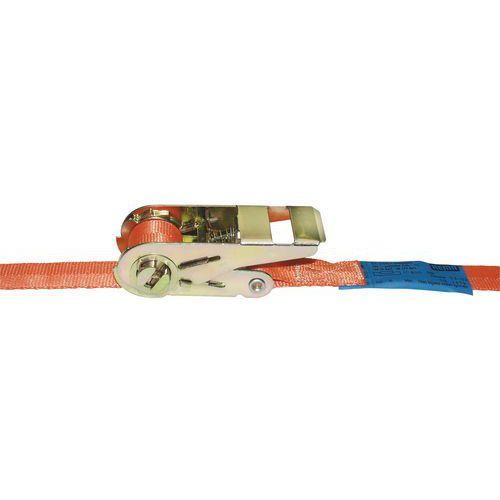 Sjorband met ratel 25A/1 - Belasting 800 kg