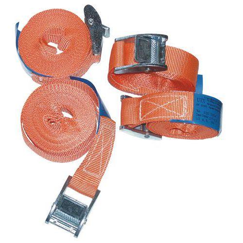 Sjorband met veiligheidssluiting