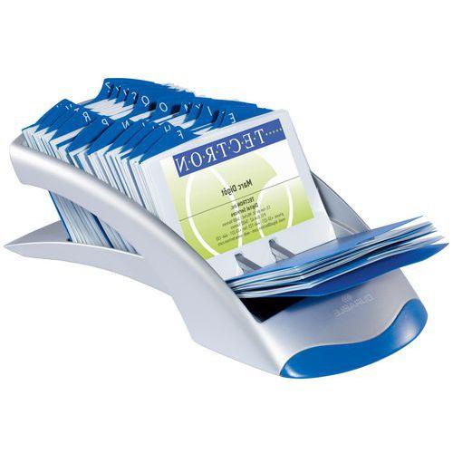 Kaartenbak voor visitekaartjes met lineair ontwerp VisiFix® Desk