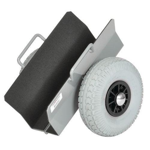 Rolwagen voor panelen met lekbestendige banden - Draagvermogen 300 kg