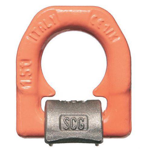 Aanlasoog enkele voet - Hefvermogen van 1500 kg tot 16.000 kg