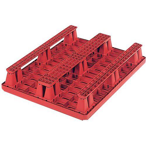 Pallet medium Packpal® - Op blokken