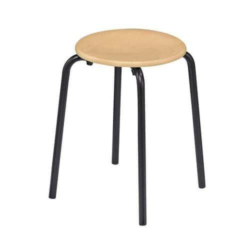 houten kruk poucet manutan. Black Bedroom Furniture Sets. Home Design Ideas