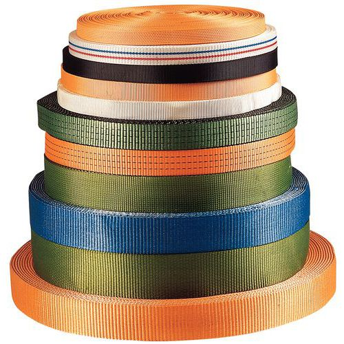 Spanbanden in polyester - Draagvermogen 2500 tot 6000 kg