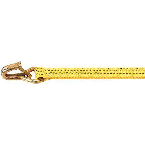 Sjorband met spanratel in 2 delen - Ergo ABS - Smalle draadhaak met vergrendeling