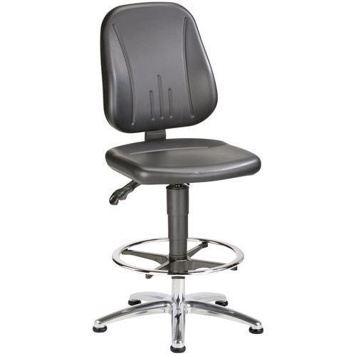 Afbeelding van Werkplaatsstoel Bimos ESD Unitec Special - Hoog