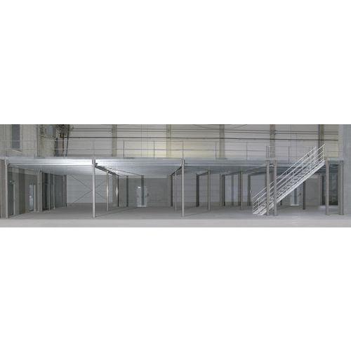 Industrieel opslagplatform - 3000 x 4200 x 4200 mm