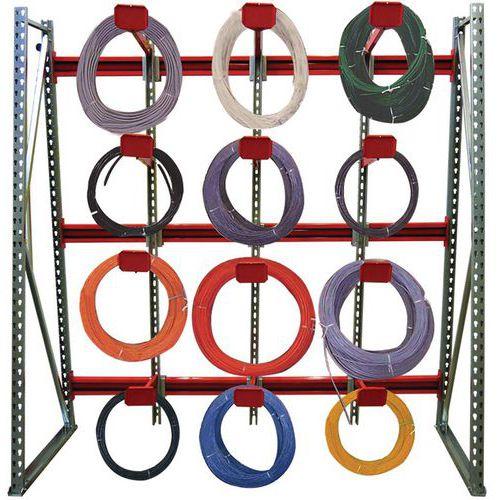 Speciale stelling voor kabelgoten