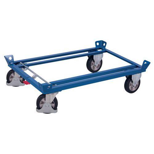 Dolly voor pallet - draagvermogen 500 kg tot 1200 kg