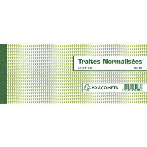 Bonboek Genormaliseerde wissels NF K 11030-1 50 bladen-Horizontaal