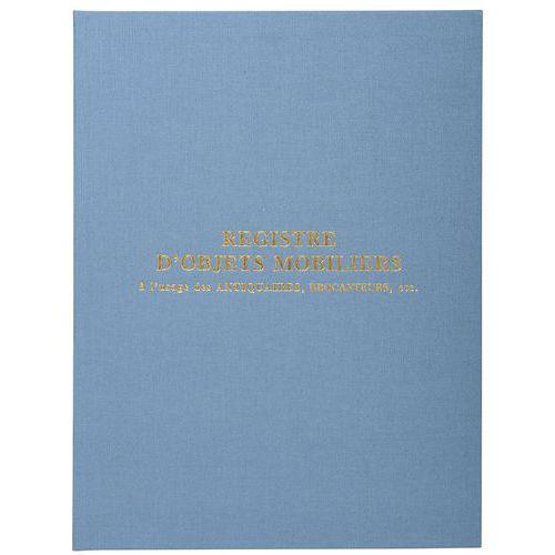 Register Objecten antiquairs en brocanteurs 100 pagina's - Exacompta