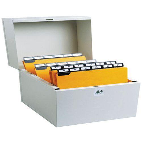 Steekkaartenbak klassement 500 steekkaart in breedte 105x148 - 105x150