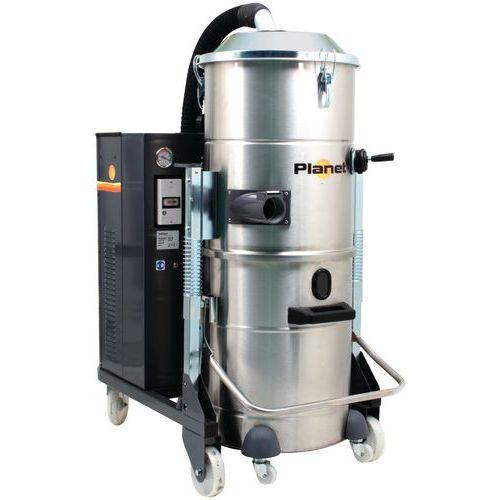 Industriële stofzuiger 2200 W driefasig rvs 100 l - ICA