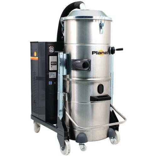 Industriële stofzuiger 5500 W driefasig rvs 100 l - ICA