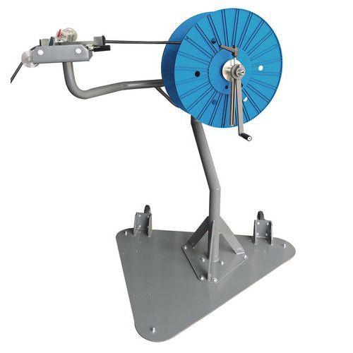 Handmatige oprolsysteem kabelhaspel met meterteller - Spirocable
