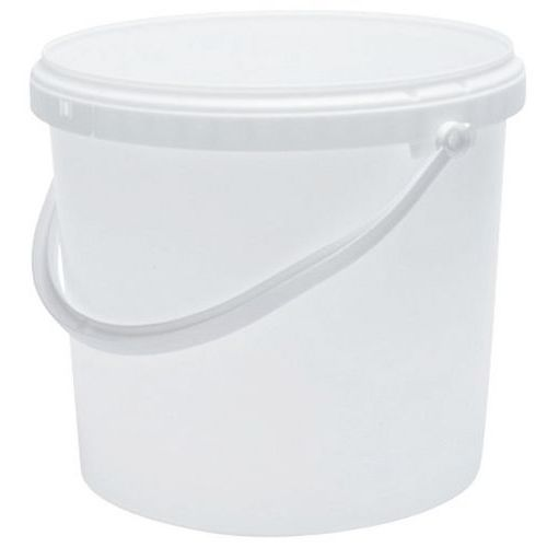 Emmer wit met deksel - 1 tot 30 l