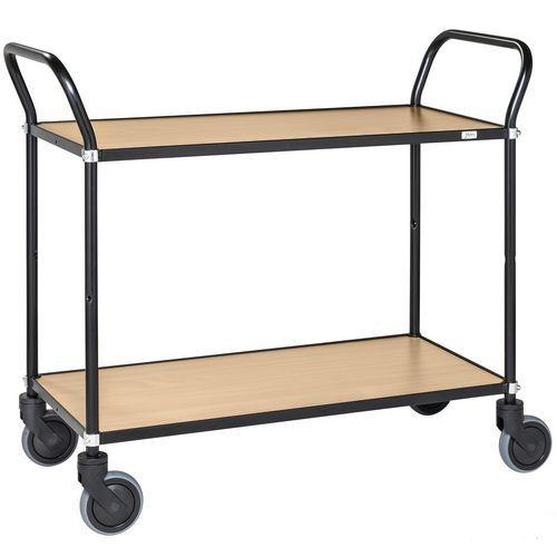 Design-trolley - zwart frame - KONGAMEK