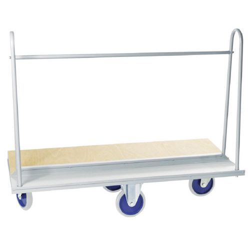 Platenwagen - Draagvermogen 500 kg - Manutan