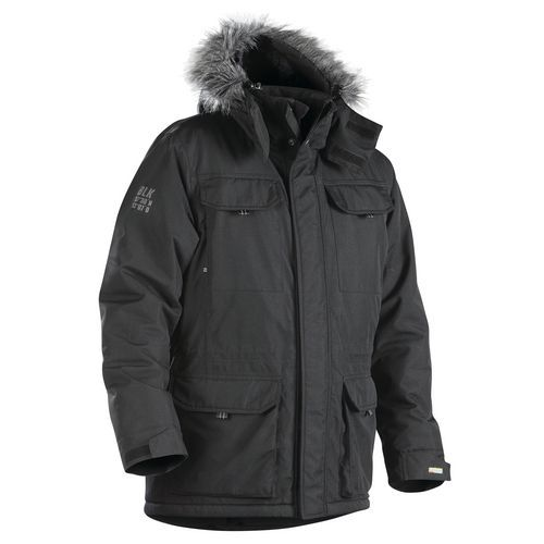 Winterparka 4986 - zwart