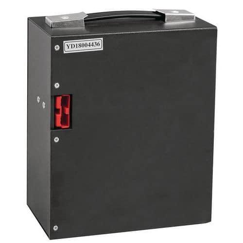 Lithium-accu voor halfelektrische pallettruck - draagvermogen 1800 kg