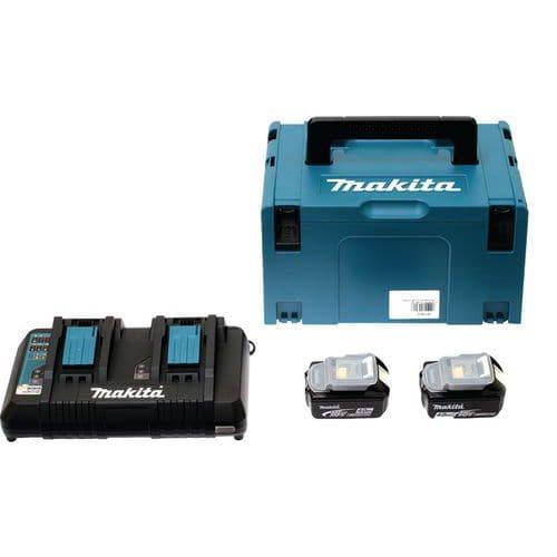 Set energie 18 V met koffer MAKPAC - Makita