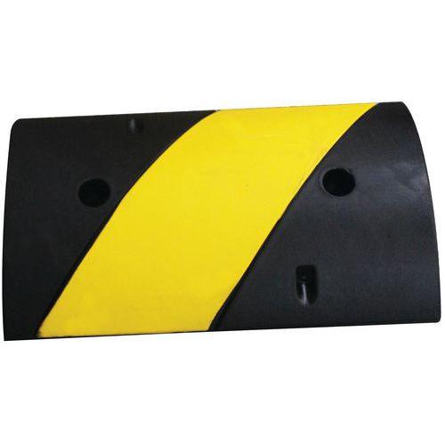 Verkeersdrempel - Zwart en geel