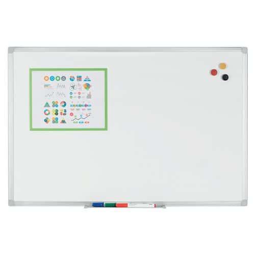 Whiteboard emaille - Manutan