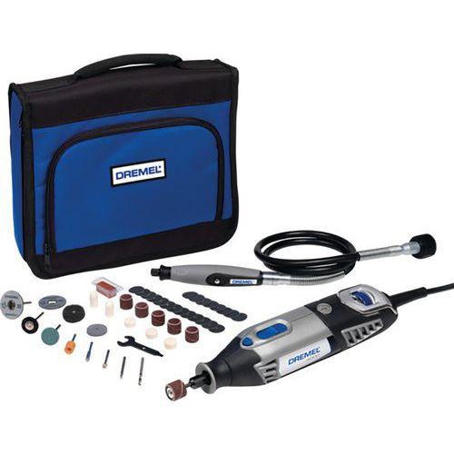 Multifunct. gereedschap Dremel 4000, 1 houder en 45 access.