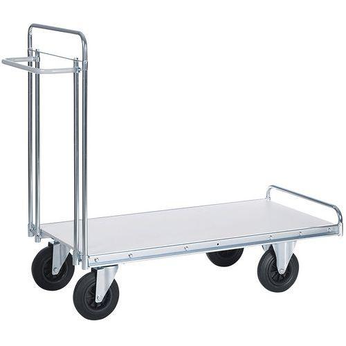 Wagen voor zware lasten - 1 plateau - draagvermogen 500 kg