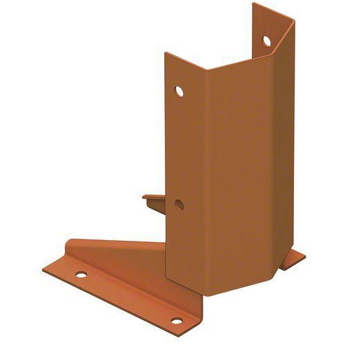 Beschermende voet voor staander voor juk Stock-Pallet