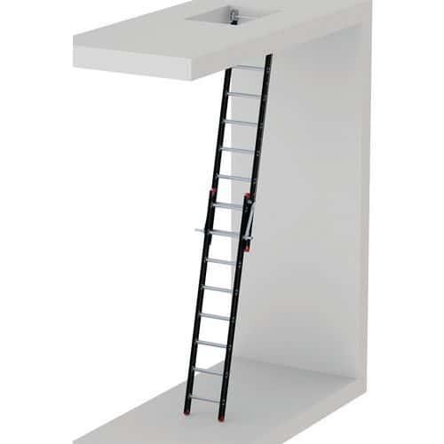 Liftmachinekamerladder 2-delige ZML 2040 2 x 8 - ALTREX
