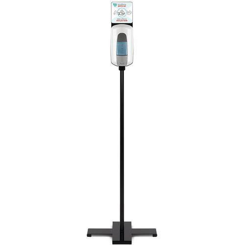 Dispenser op zuil voor gel handbediening- 1 l - TTS