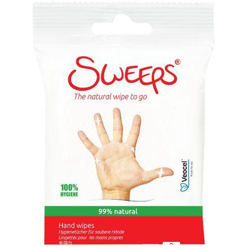 Reinigende doekjes voor de handen - 15 stuks