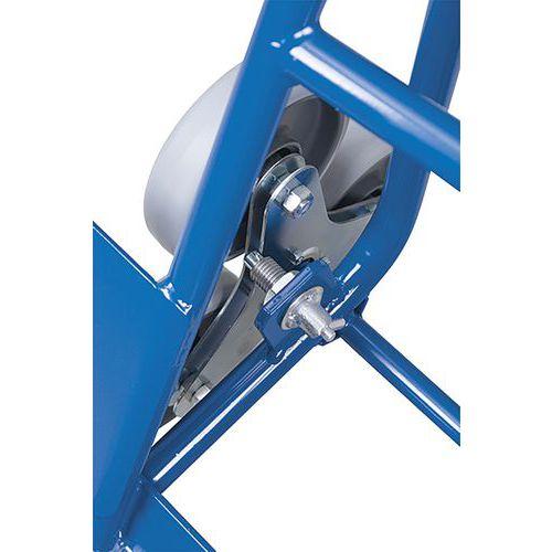 Trappensteekwagen met 2 driearmige wielset