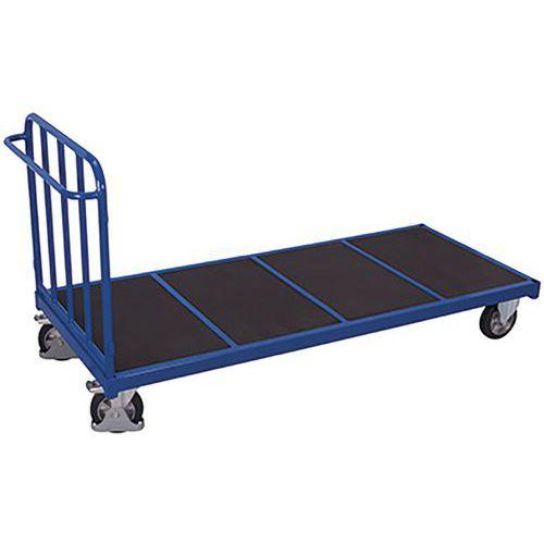 Kopwandwagen met 1 buisvormige rugleuning