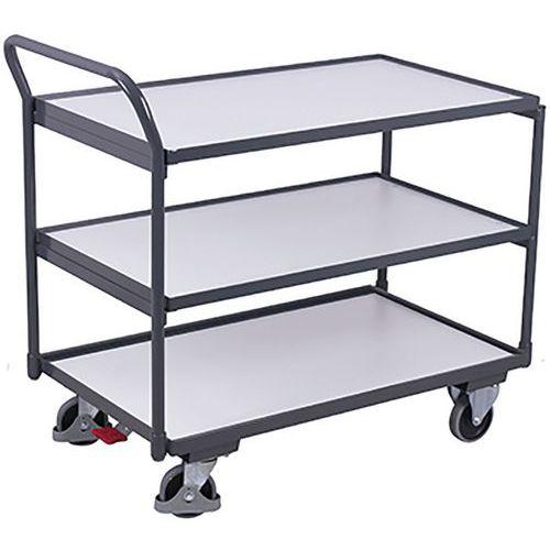 Tafelwagen ESD met 3 laadvlakken