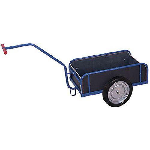 Handwagen met wanden