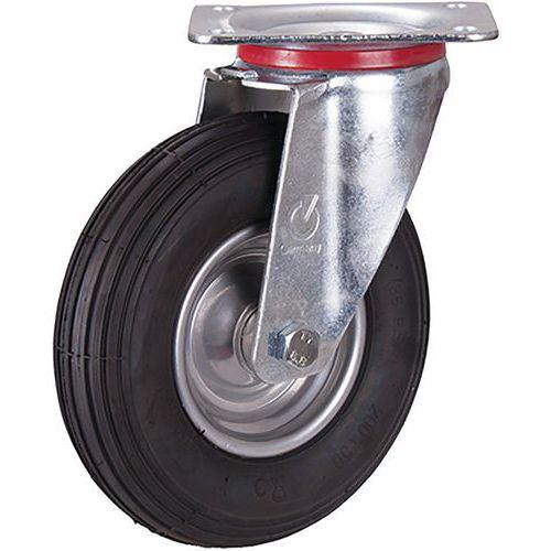 Zwenkwiel met luchtband 200 x 50 mm